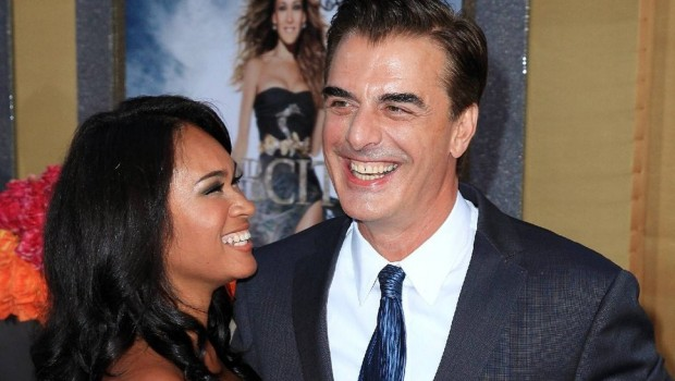 Chris Noth e esposa